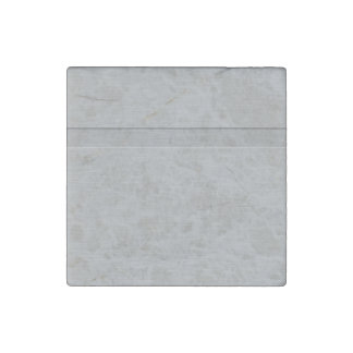 Faux Brushed Metal with Groove Stone Magnet
