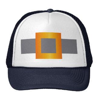 Faux Buckle Design on Trucker Hat