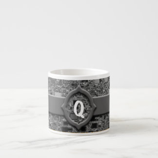Faux Chrome Mini Box Design & Monogram