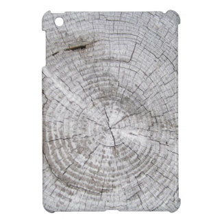 Faux Cracked Driftwood iPad Mini Case