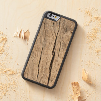 Faux Cracked Tree Bark Maple iPhone 6 Bumper Case