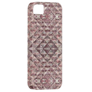 Faux Crystal Amethyst Glass Tile Wrap iPhone 5 Covers