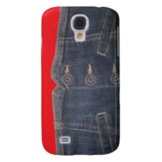 Faux Denim Pouch - Fashion Iphone Cases Galaxy S4 Cases
