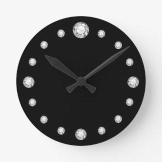 "Faux-""Diamond Bling"" Clock"