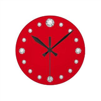 "Faux-""Diamond"" Clock"