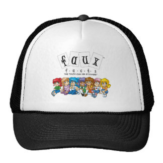 Faux Facts - The Truth Can Be Strange Trucker Hats