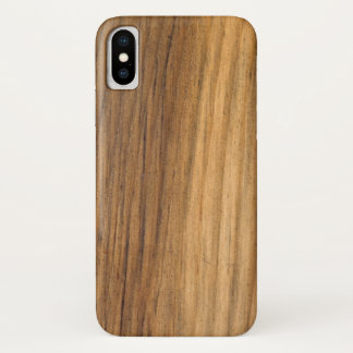 Faux Finished Barn Wood iPhone X Case