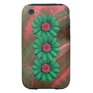 faux flowered Iphone3 case