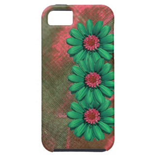 faux flowered Iphone4 tough case