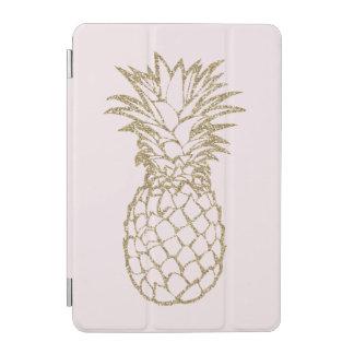 Faux Glitter Gold Pineapple Pink iPad Smart Cover iPad Mini Cover