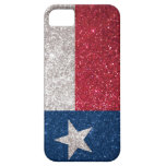 Faux Glitter Texas flag iPhone 5 Cases