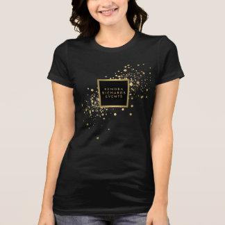 Faux Gold Confetti Tshirt