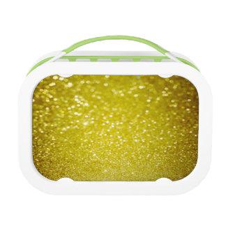 faux,gold,glitter,glam,christmas,xmas,pattern,star lunch box