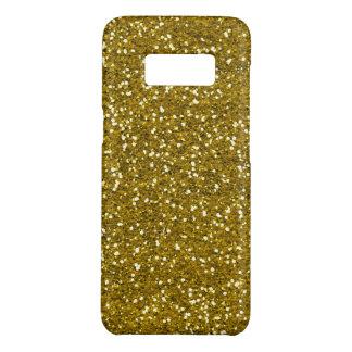 Faux Gold Glitter Pattern Case-Mate Samsung Galaxy S8 Case