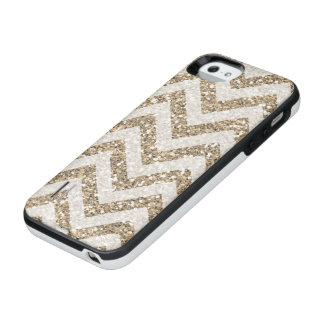 Faux gold glitter SE Battery case