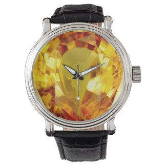 Faux Jewel Bling Wristwatch