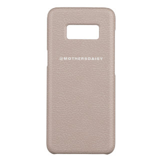 Faux Leather Look Blush Millennial Pink Case-Mate Samsung Galaxy S8 Case