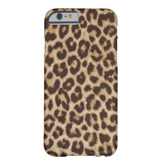 Faux Leopard Fur Barely There iPhone 6 Case