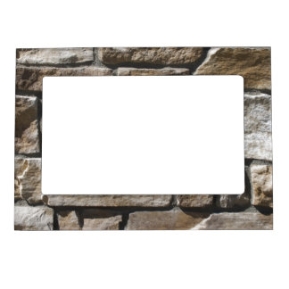 Faux Limestone Rock Magnetic Picture Frame