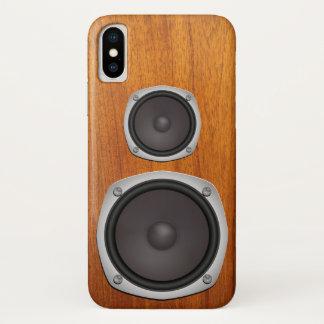 Faux Loudspeaker System iPhone X Case