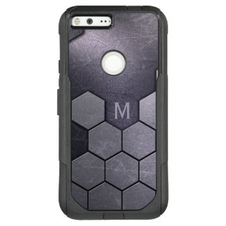 Faux Metal Pattern custom monogram phone cases