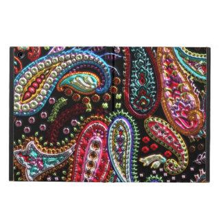 Faux Metallic Paisley iPad Air case