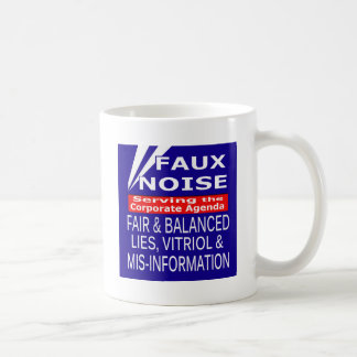 Faux Noise  ALL Lies,Vitriol & MisInformation Coffee Mug
