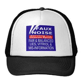Faux Noise  ALL Lies,Vitriol & MisInformation Trucker Hats
