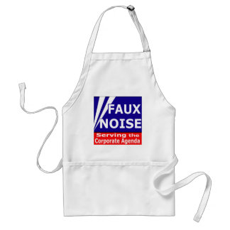 Faux Noise Serving the Corporate Agenda Standard Apron