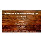 Faux Oiled Wood Plank Personalised Custom