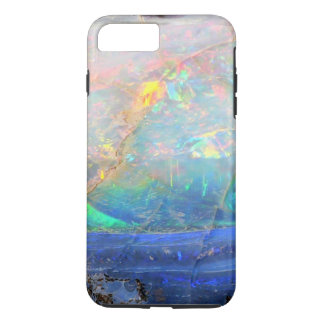 Faux opal gem gemstone mineral bling bokeh hipster iPhone 7 plus case
