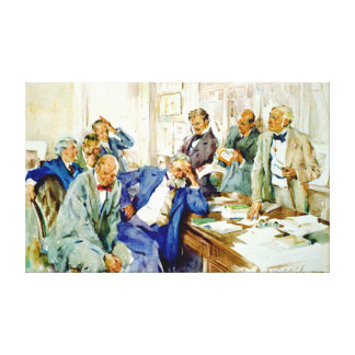 Faux Pas 1912 Canvas Prints