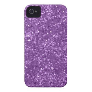 Faux Purple Glitter iPhone 4 Case-Mate Cases