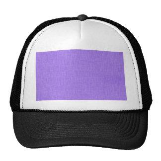 Faux Purple Linen Fabric Textured Background Cap