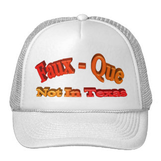 Faux - Que Mesh Hat