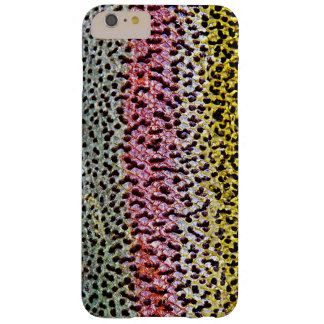 Faux Rainbow Trout Scale Texture Look Pattern Barely There iPhone 6 Plus Case