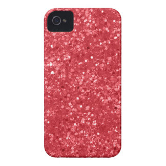 Faux Red Glitter iPhone 4 Case-Mate Cases