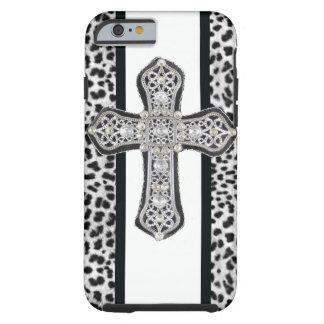 Faux Rhinestone Cross iPhone 6 case