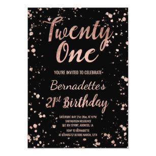 21st birthday invitations zazzle au