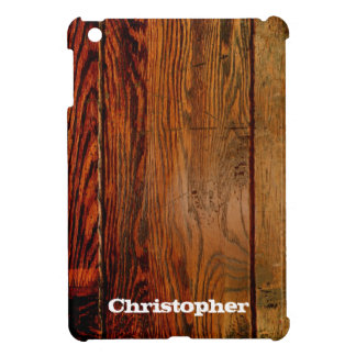 Faux Rustic Wood Plank iPad Mini Case