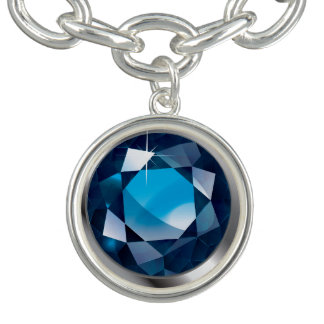 "Faux-""Sapphire"" Stone"