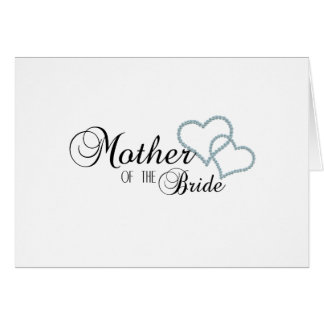 Faux Show Mother of the Bride Greeting Card