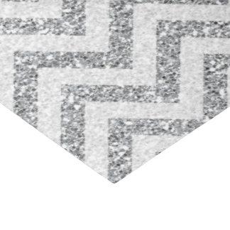 Faux silver glitter tissue paper