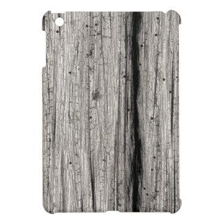Faux Silvery Weathered Barn Wood iPad Mini Case