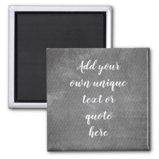 Faux Striped Blackboard Custom Personalized Magnet