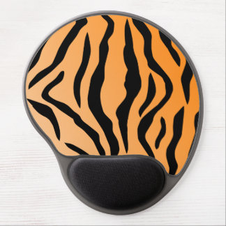 Faux Tiger Print Gel Mouse Pad