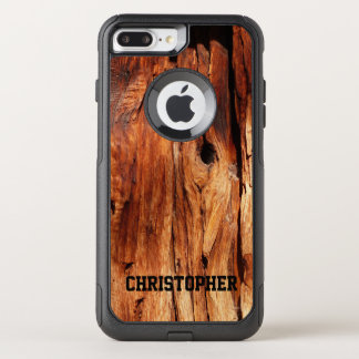 Faux Weather Wood OtterBox Commuter iPhone 7 Plus OtterBox Commuter iPhone 7 Plus Case