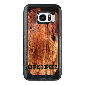 Faux Weather Wood OtterBox Samsung Galaxy S7 Edge