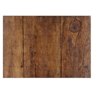 Faux Weathered Barn Wood Cutting Board