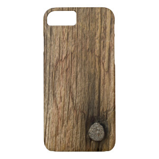 Faux Weathered Barn Wood iPhone 8/7 Case